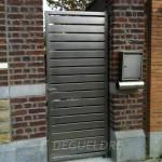 Porte métallique extérieure