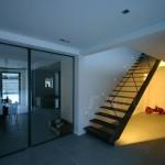Escalier métal design