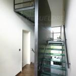 Escalier métallique design
