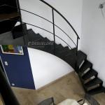 Escalier brut design