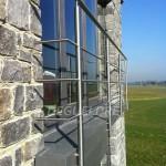 Garde-corps inox fenêtre